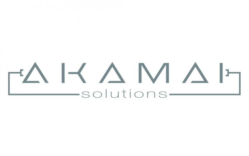 Akamai Solutions Logo Design
