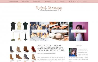 Retail Shareapy Website Design