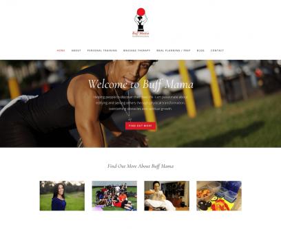 Buff Mama Website Design