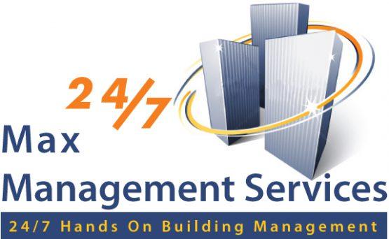 Max Management Services Logo Design