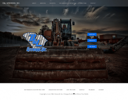 D&L Sitework Website Design