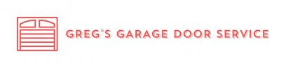Greg's Garage Door Service Logo Design