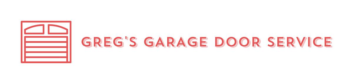Greg's Garage Door Service Logo Design